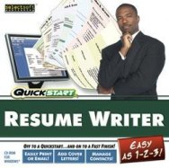 Quickstart Resume Writer image